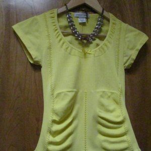 Bodycon top..m/l juniors ..very stretchy/spandex
